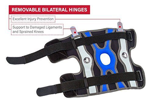 Body-Glove-5mm-Perforated-SBR-Sports-Hinged-Wraparound-Knee-Brace-BG-SWK-BLUE thumbnail 18