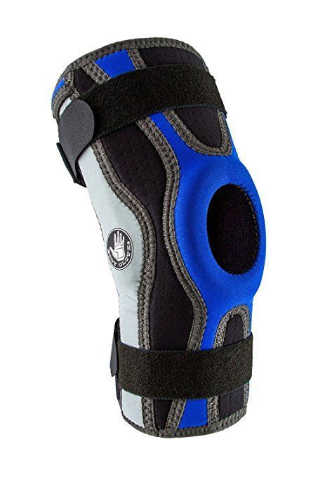 Body-Glove-5mm-Perforated-SBR-Sports-Hinged-Wraparound-Knee-Brace-BG-SWK-BLUE thumbnail 26