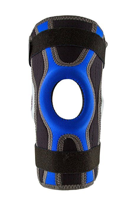 Body-Glove-5mm-Perforated-SBR-Sports-Hinged-Wraparound-Knee-Brace-BG-SWK-BLUE thumbnail 7