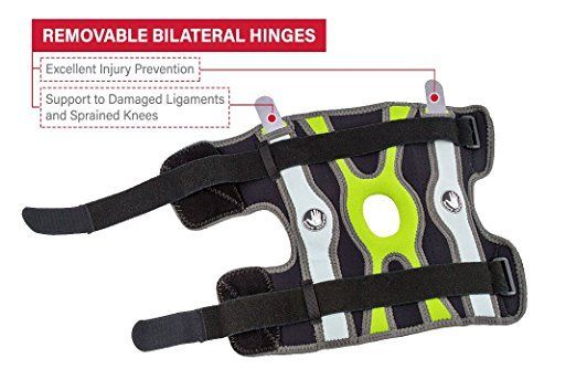 Body-Glove-5mm-Perforated-SBR-Sports-Hinged-Wraparound-Knee-Brace-BG-SWK-GREEN thumbnail 8