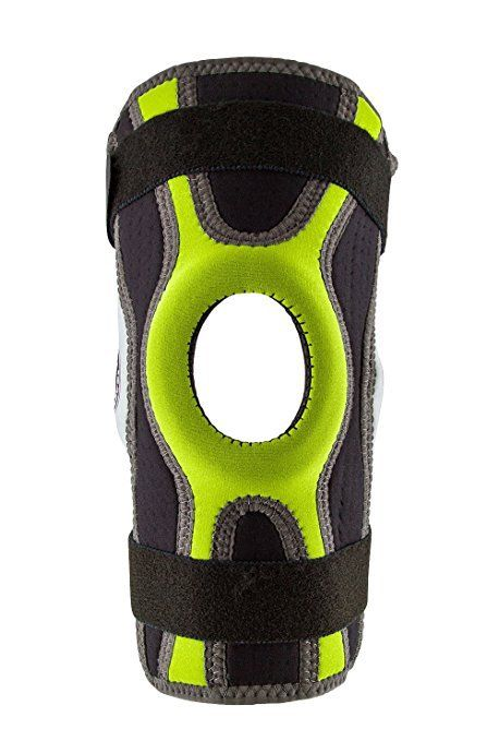 Body-Glove-5mm-Perforated-SBR-Sports-Hinged-Wraparound-Knee-Brace-BG-SWK-GREEN thumbnail 6