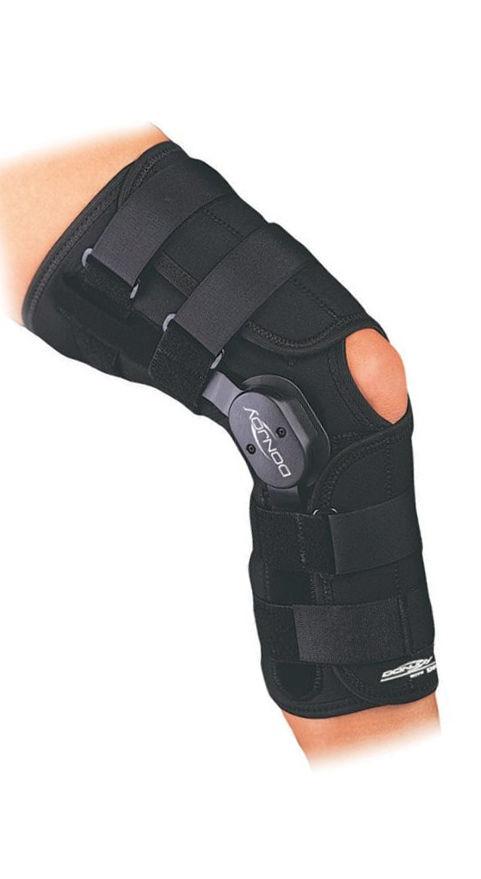 854fb716c1 Donjoy Playmaker Drytex Wraparound Knee Brace New All Sizes 11-0666 ...