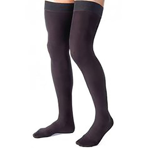 60551f4a7 Jobst Relief Thigh High Black Unisex 20-30 mmHg Silicone Dot Band ...