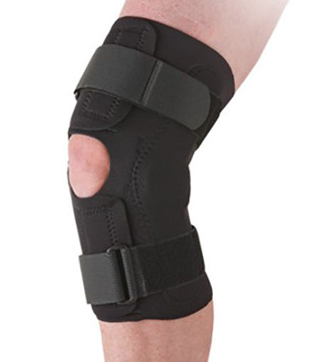 Ossur Neoprene Wraparound Hinged Knee Support All Sizes 2120