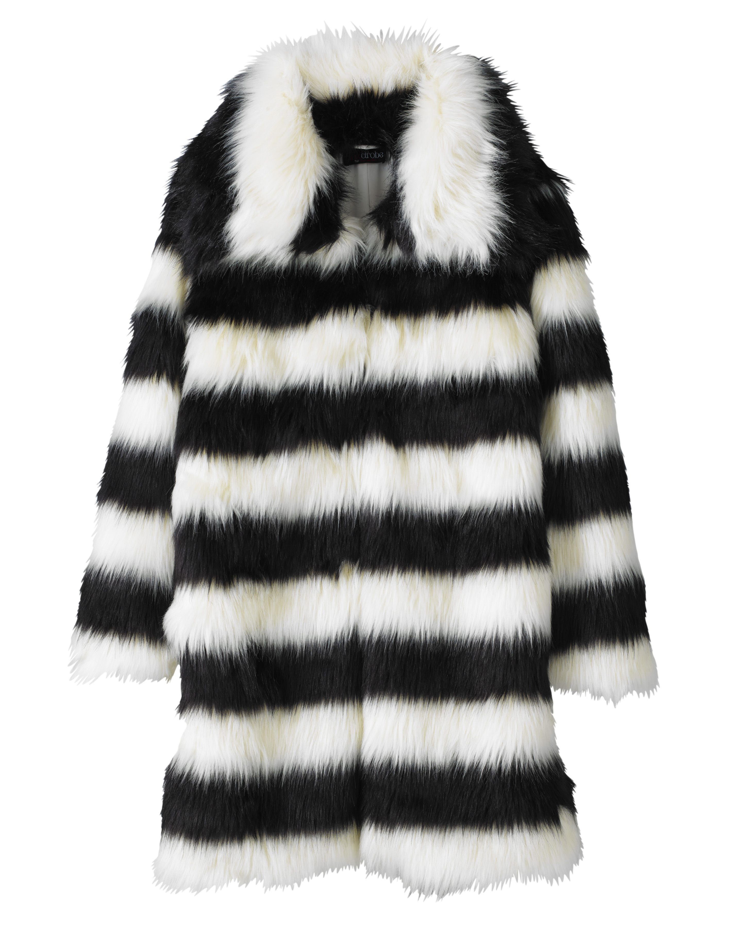 cef7e362cfe New Simply Be Womens Lovedrobe Contrast Faux Fur Jacket
