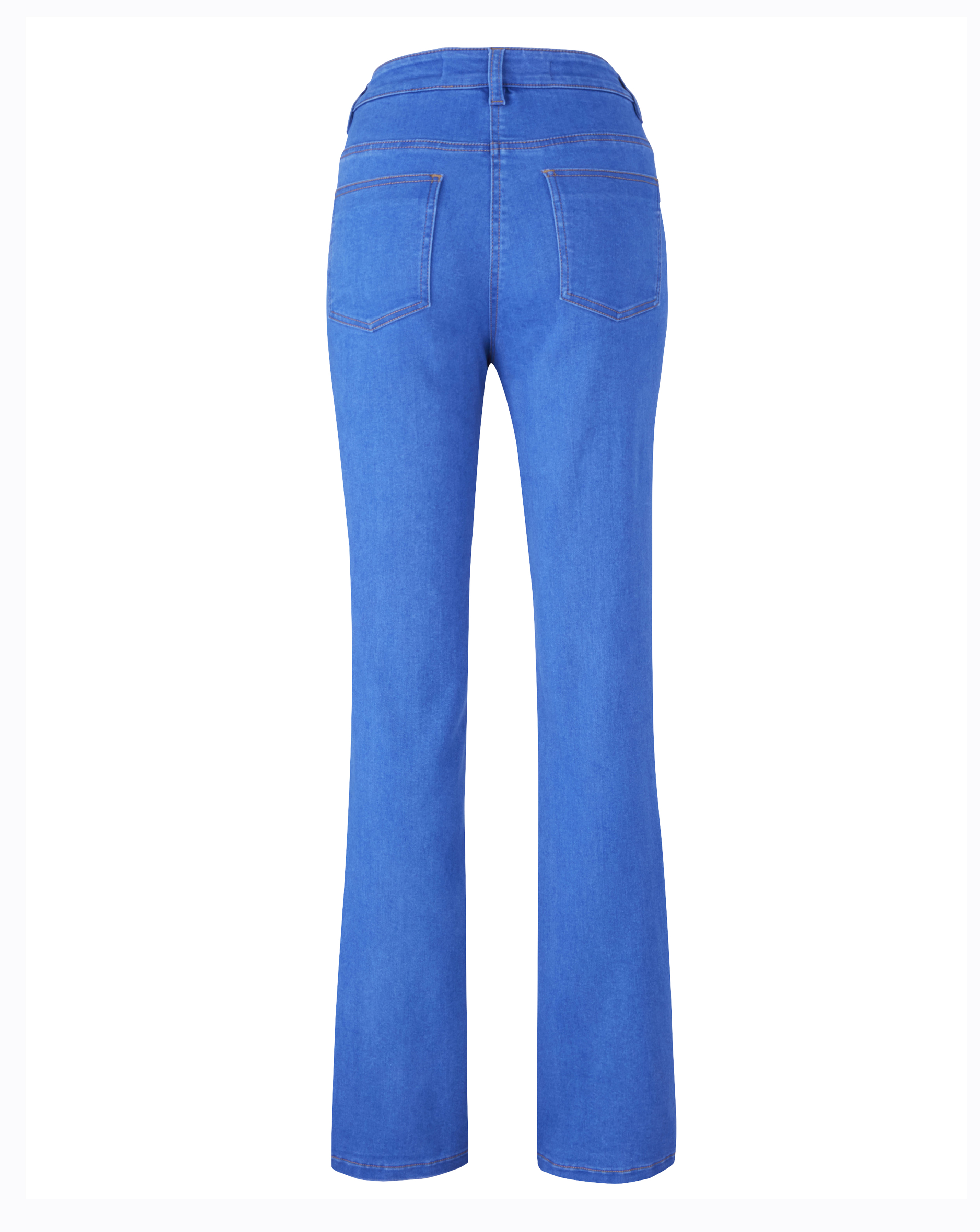 Womens-Kim-High-Waisted-Super-Soft-Bootcut-Jeans-Simply-Be thumbnail 5