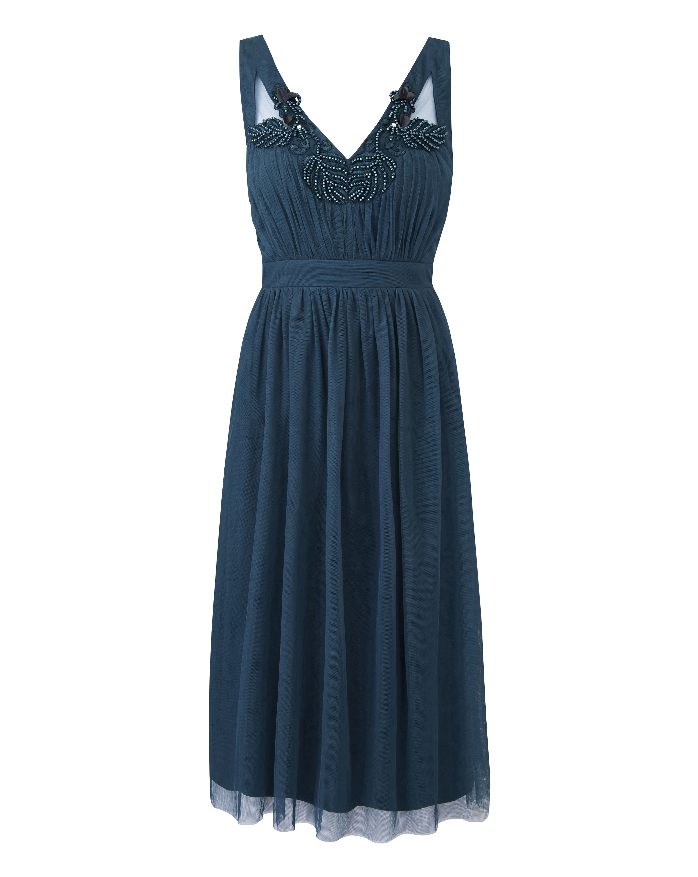 Simply Be Womens Little Mistress Cut Out Mesh Prom Dress