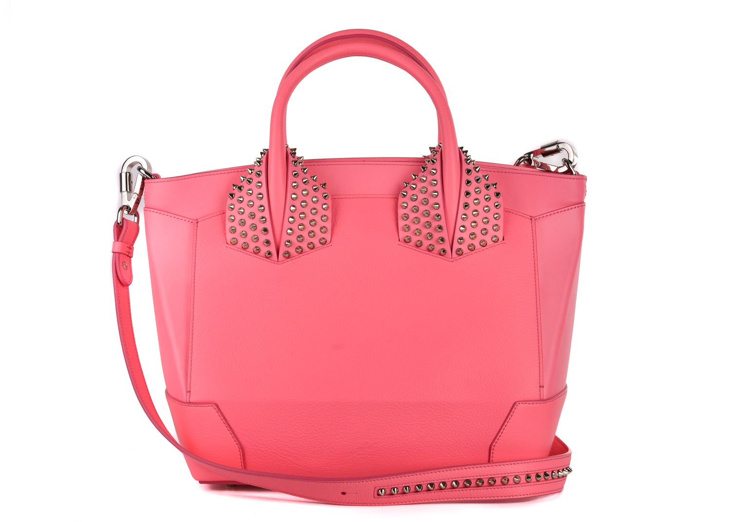aeec2d976c3 Christian Louboutin Womens Eloise Pink Large Studded Leather Tote ...