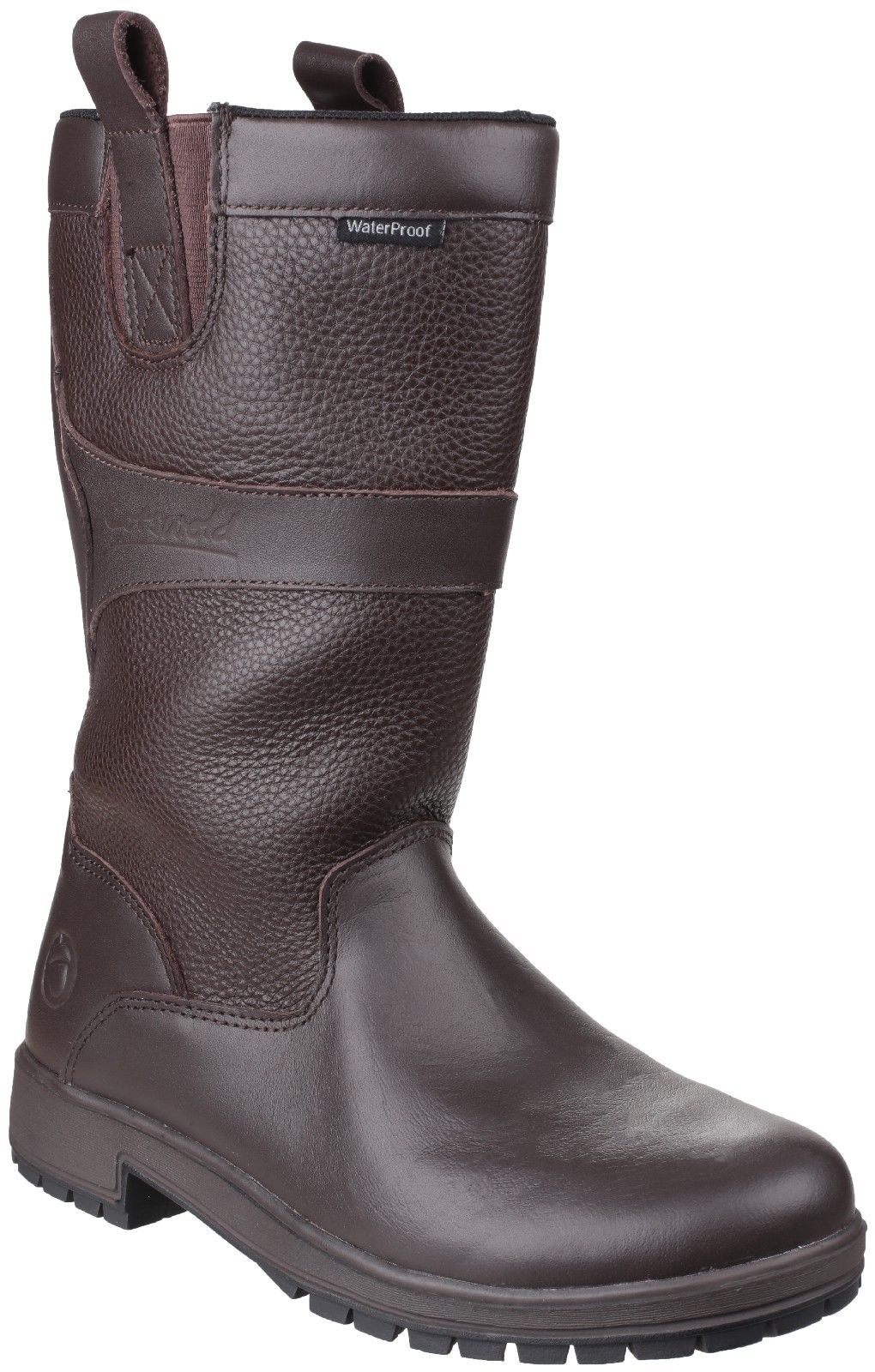 Cotswold Ascot Braun or walnut ladies Leder Stiefel waterproof pull on calf Stiefel Leder dda2d8