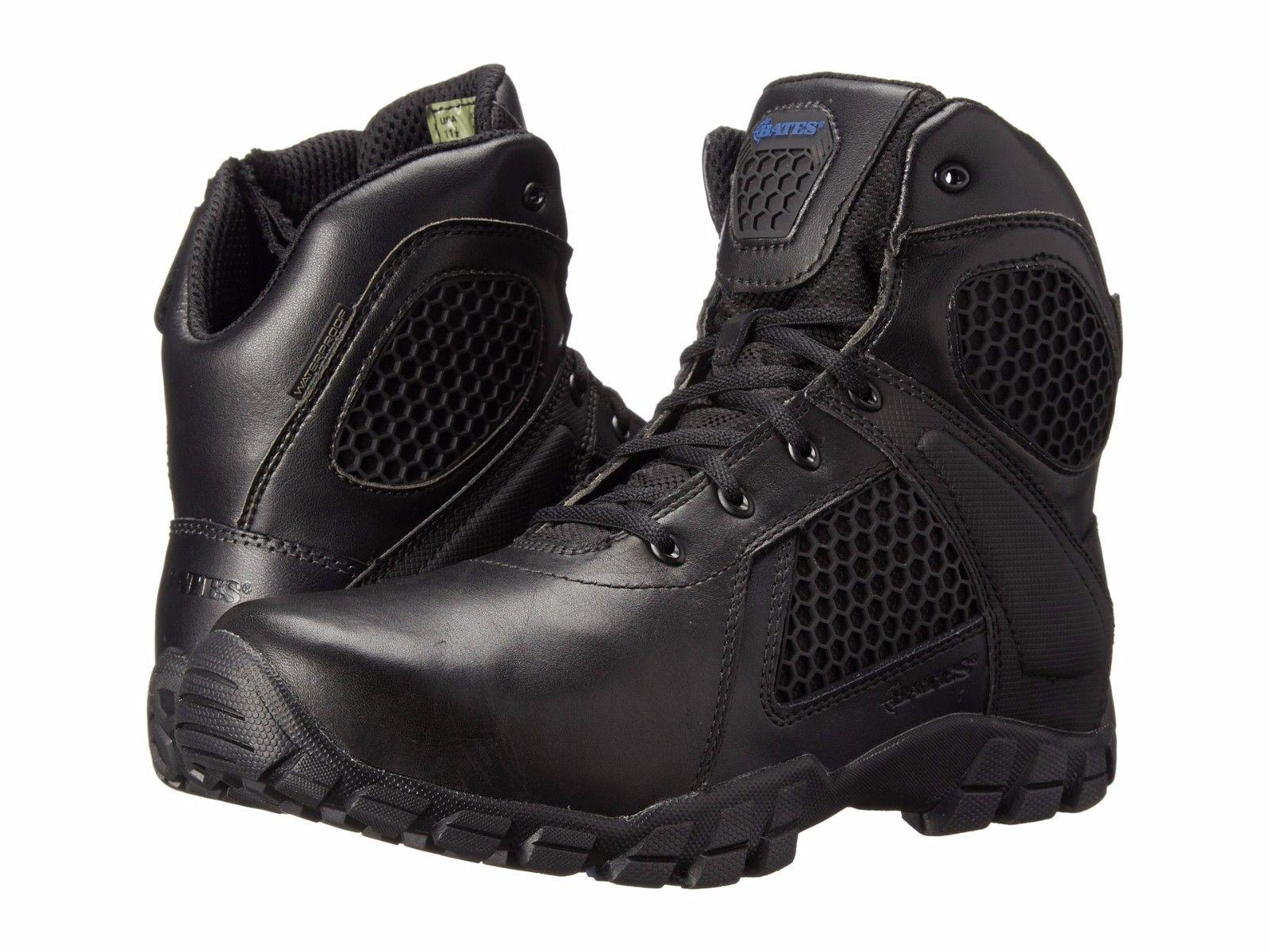 "Bates 7006 Strike 6"" black Dura-Flex non-safety combat service boot size 6-11"