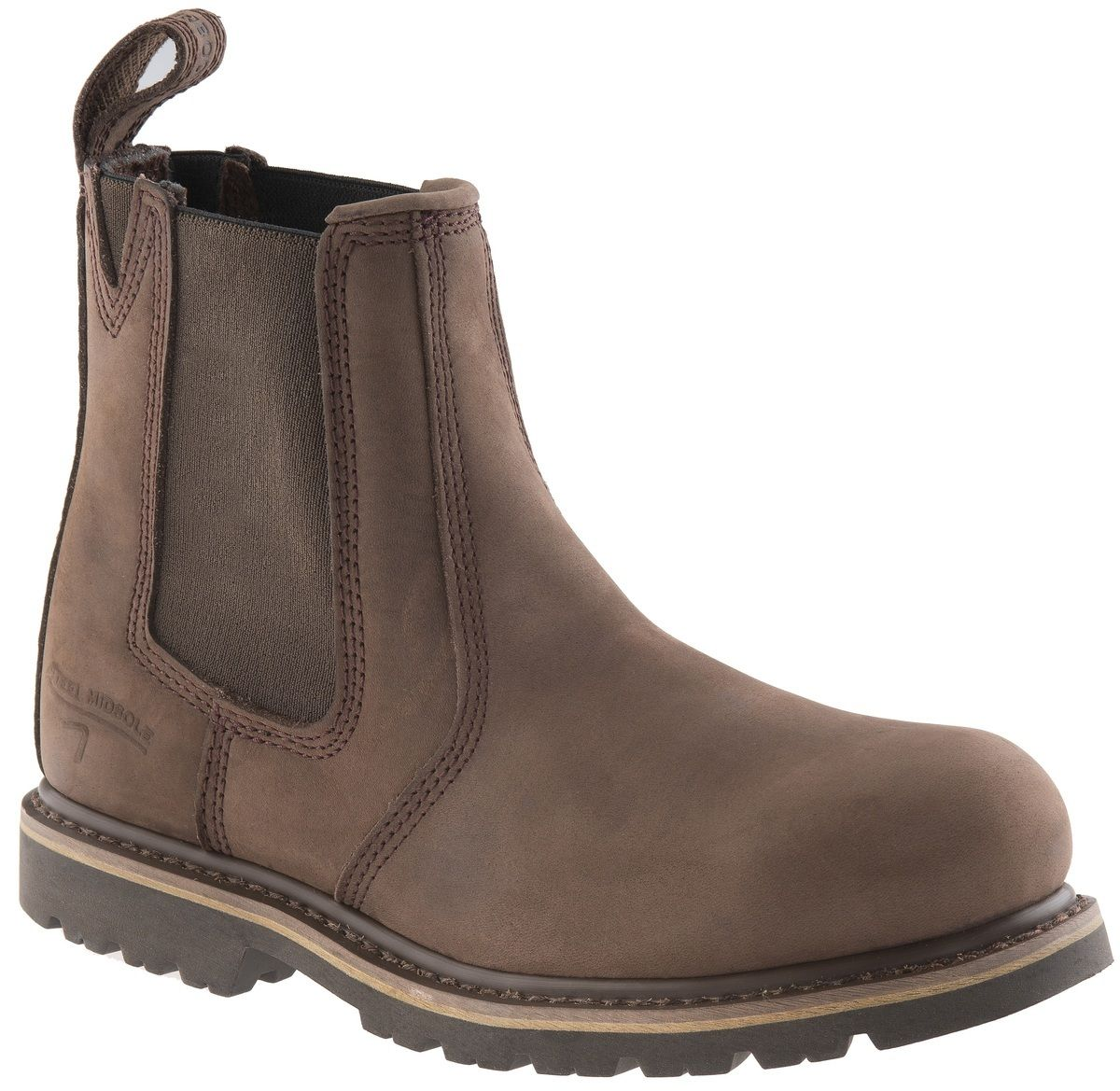 Buckler B1150SM chocolate oily leather K2 sole safety dealer boot size 4 to 13