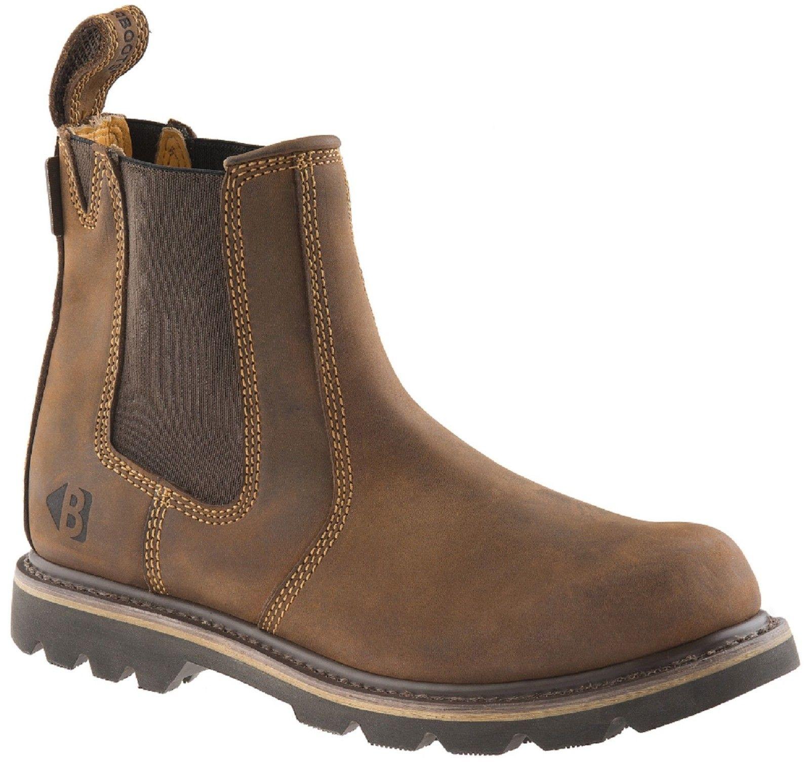 Buckler B1300 dark K3 brown crazy horse leather K3 dark sole non-safety dealer boot 61d8dc