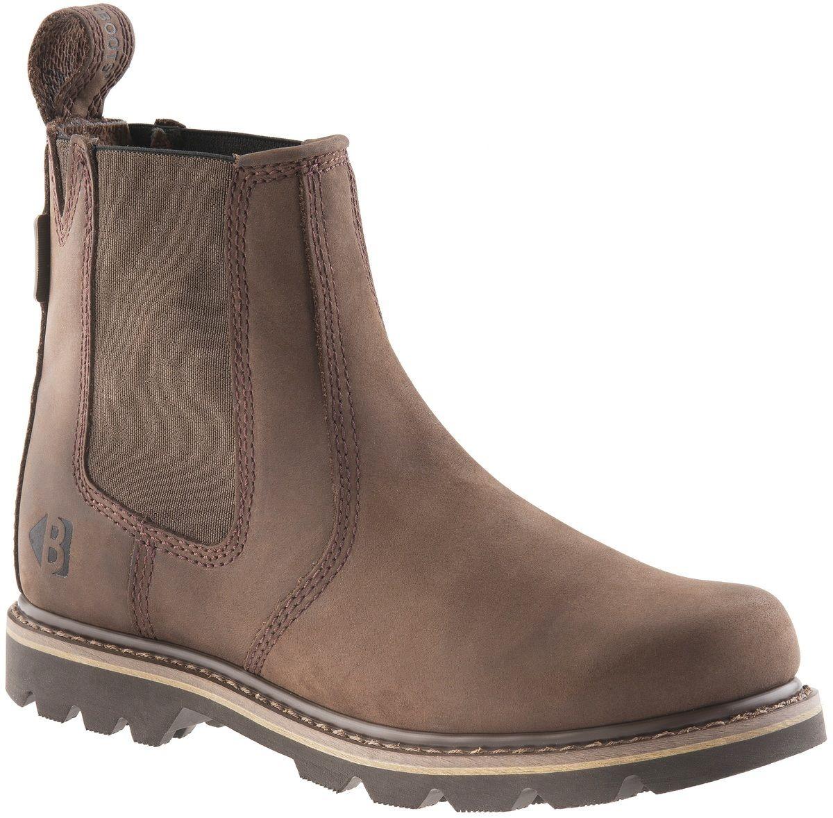 Buckler B1400 Leder Buckflex chocolate oily Leder B1400 non-safety dealer boot Größe 6-13 f53a79
