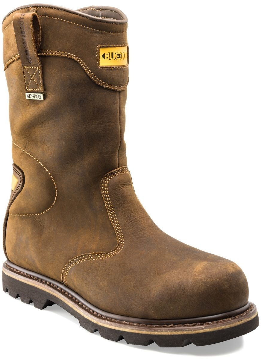 Buckler B701SMWP WATERPROOF Leder safety boot rigger boot safety sz 6/40 - 13/47 5faa28