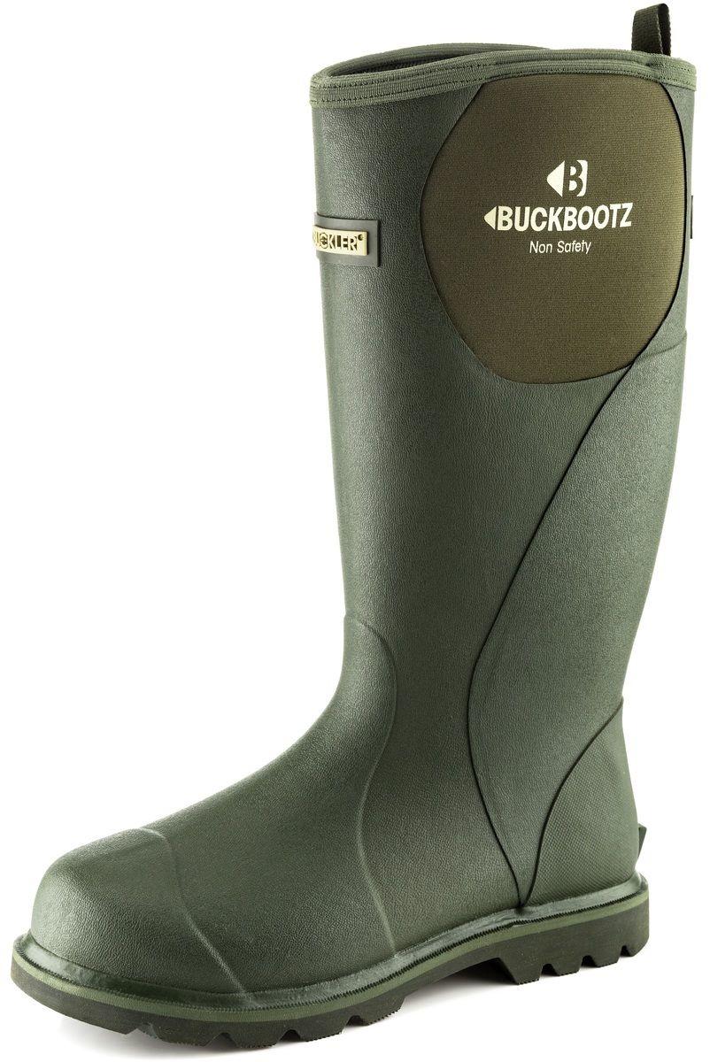 Buckler Buckbootz BBZ5060 green non-safety waterproof wellington boot size 5-13