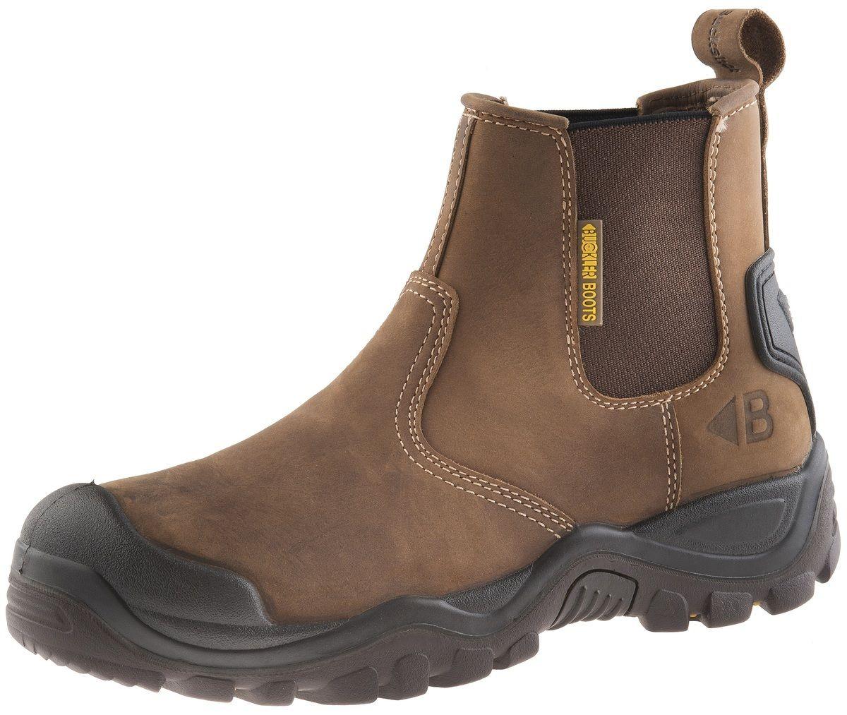 Buckler Buckshot BSH006 S3 Braun Braun Braun crazy horse safety dealer boot SZ 6/40  13/47 9a5e41
