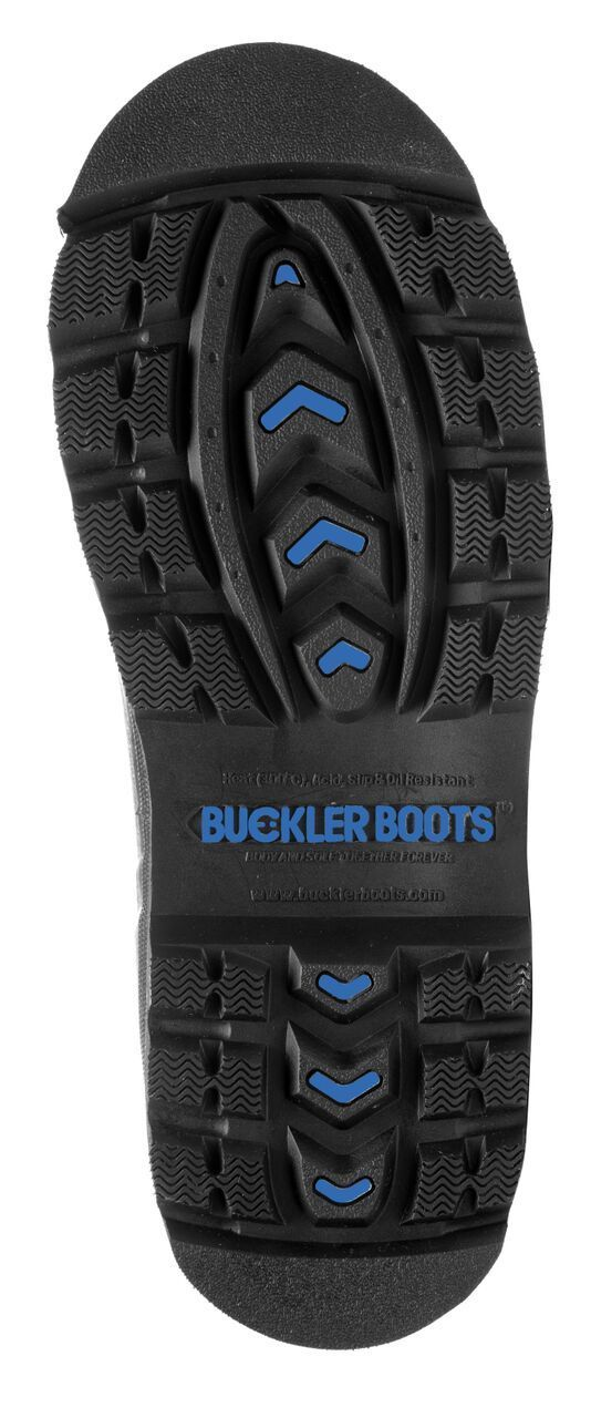 Buckler Señoras buckbotaz BBZ5666 Negro Señoras Buckler botas Wellington Impermeable Seguridad no 4-8 51ba9b