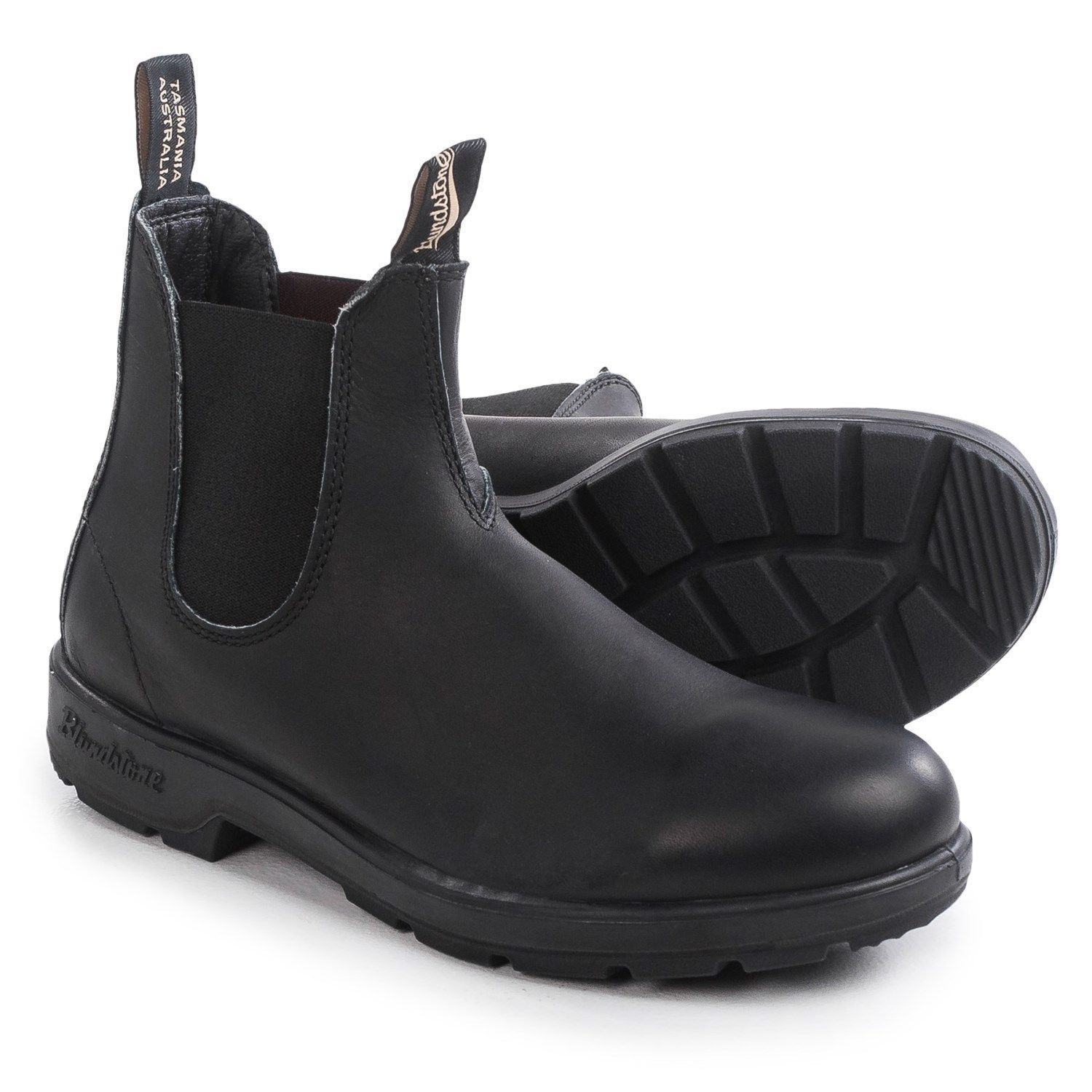 a5ffc1bf5d58 BLUNDSTONE 510 black premium leather non-safety chelsea dealer boot ...