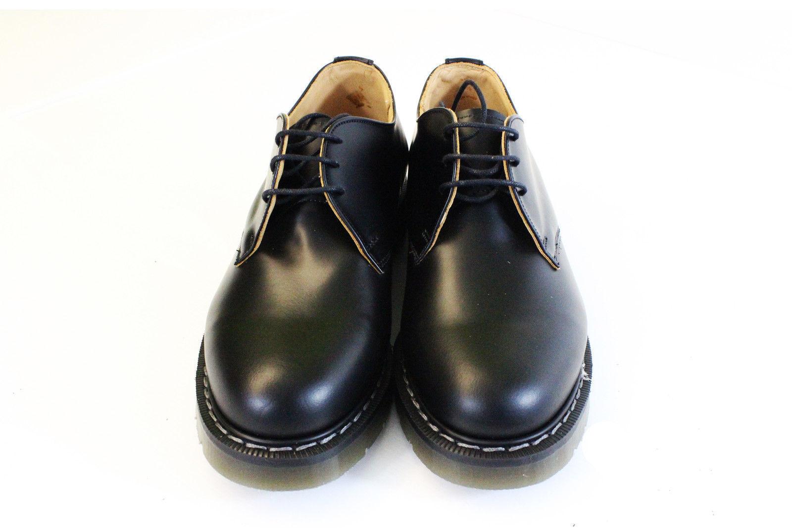 NORTHAMPTON MADE schwarz air cushion 3 3 3 eye gibson shoe Größe 7-11 1a1bfa