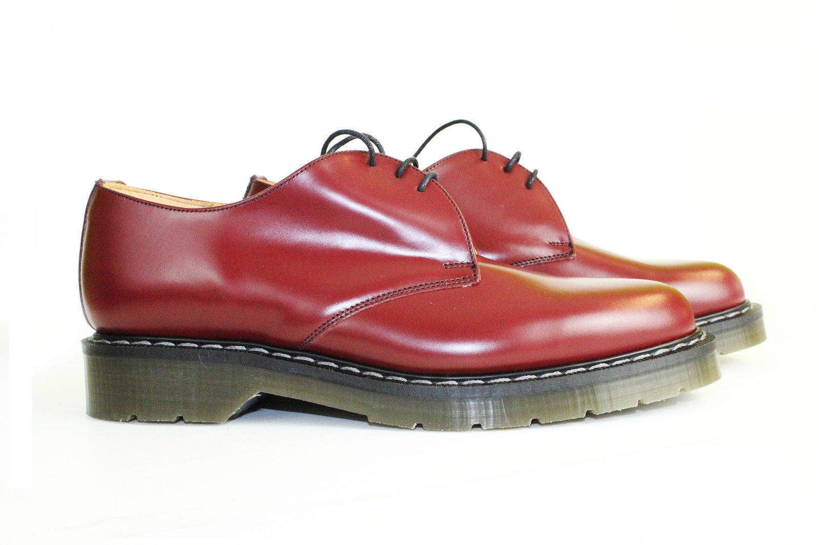 NORTHAMPTON air MADE non-safety cherry ROT air NORTHAMPTON cushion 3-eye gibson shoe 7-11 22bd6f