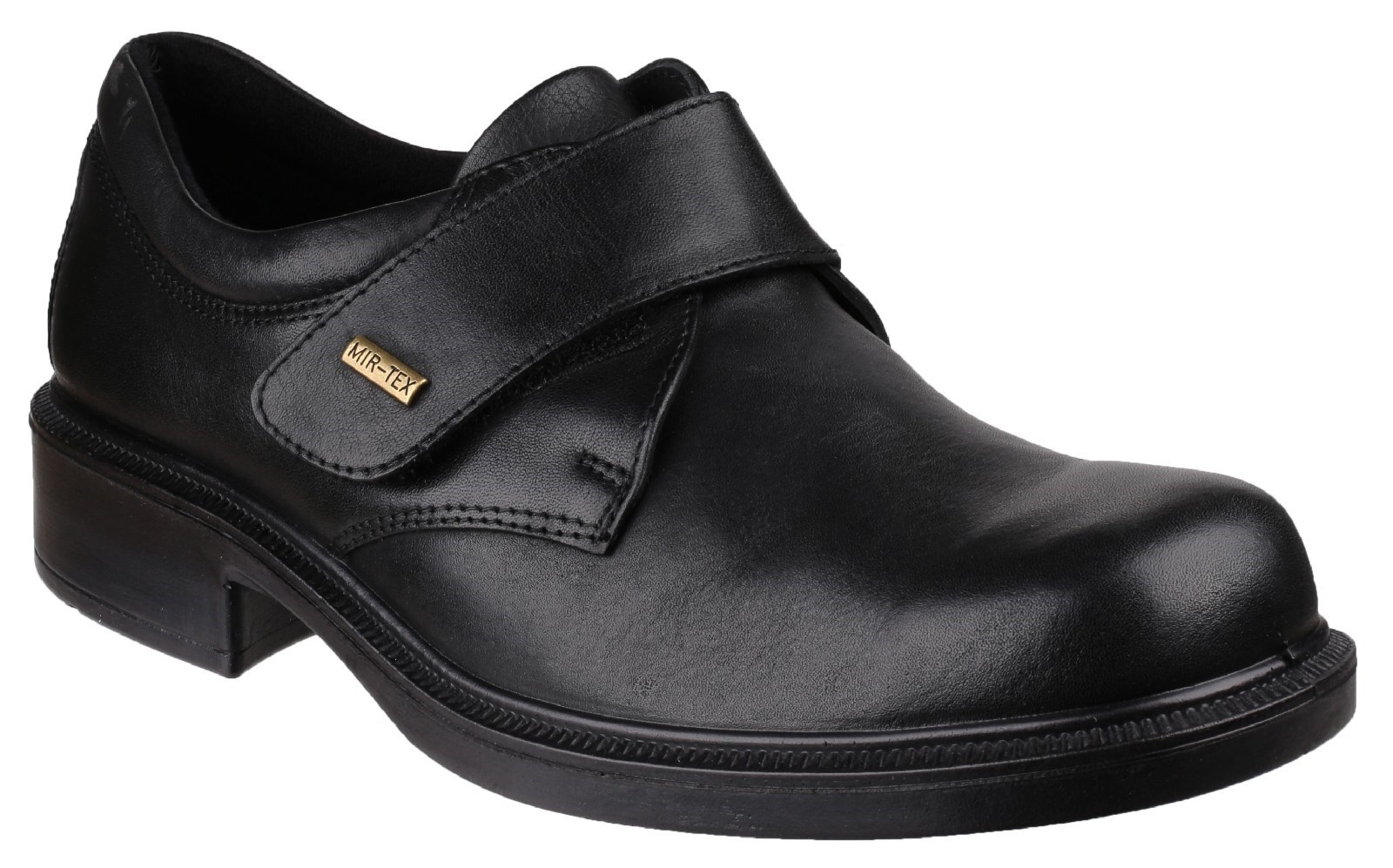 Cotswold Cleeve black black black or brown leather waterproof touch fastening shoe 98777a