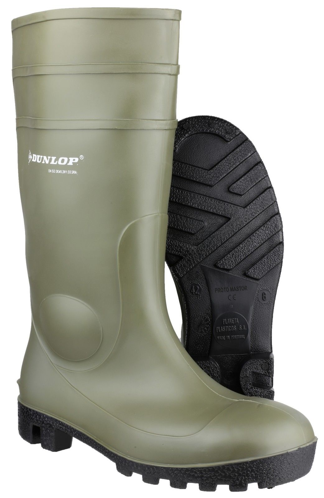 Dunlop Mens Protomastor 142VP Steel Toe & Mid Safety Wellington Boots gIox4gUIY