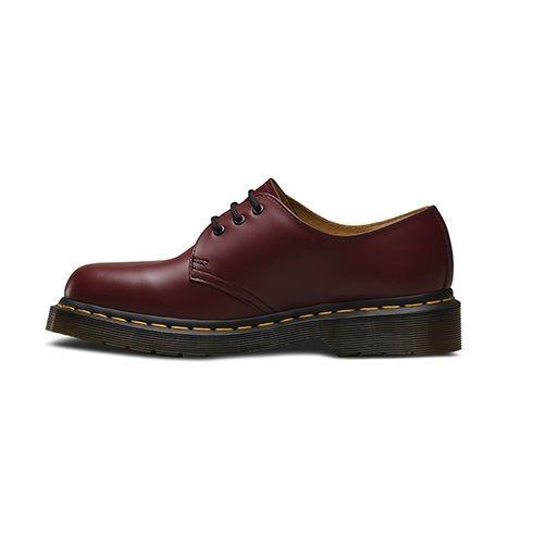b24374af0765e Dr Martens 1461Z cherry red smooth 3-eye Airwair DM shoe size 3-15UK ...