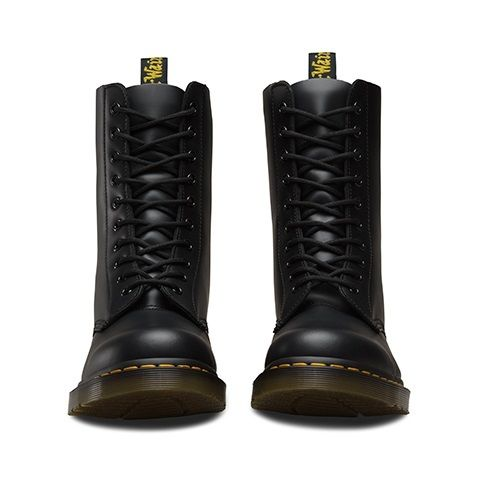 Dr Martens classic Docs DM 11857001 1490 smooth black 10-eyelet classic Martens boot size 3-12UK 97c204