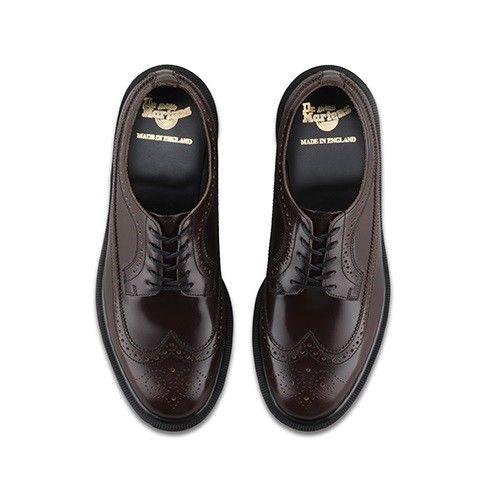 Inglaterra zapato Dm 3989 Merlot Boanil Dr del Brogue 4 Tamaño Martens 13uk Hecho en Airwair Yxzw5q65