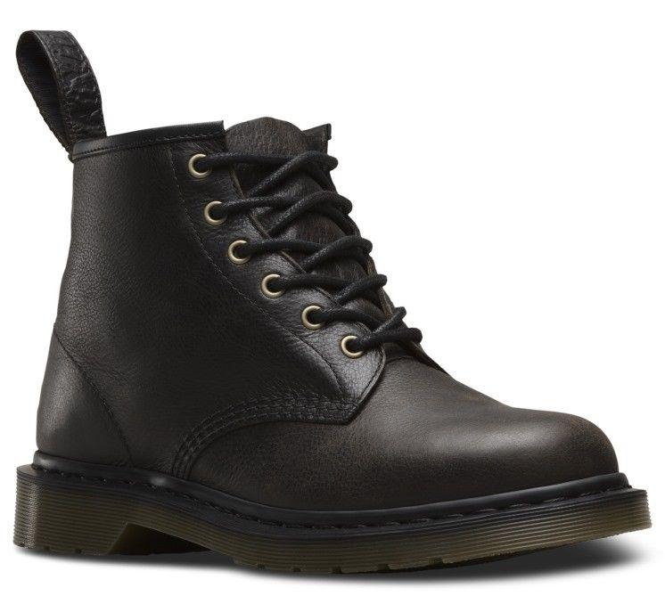 Dr Martens 23164001 101 schwarz harvest 6 eyelet boot Größes Größes Größes 3-13UK 6727fc