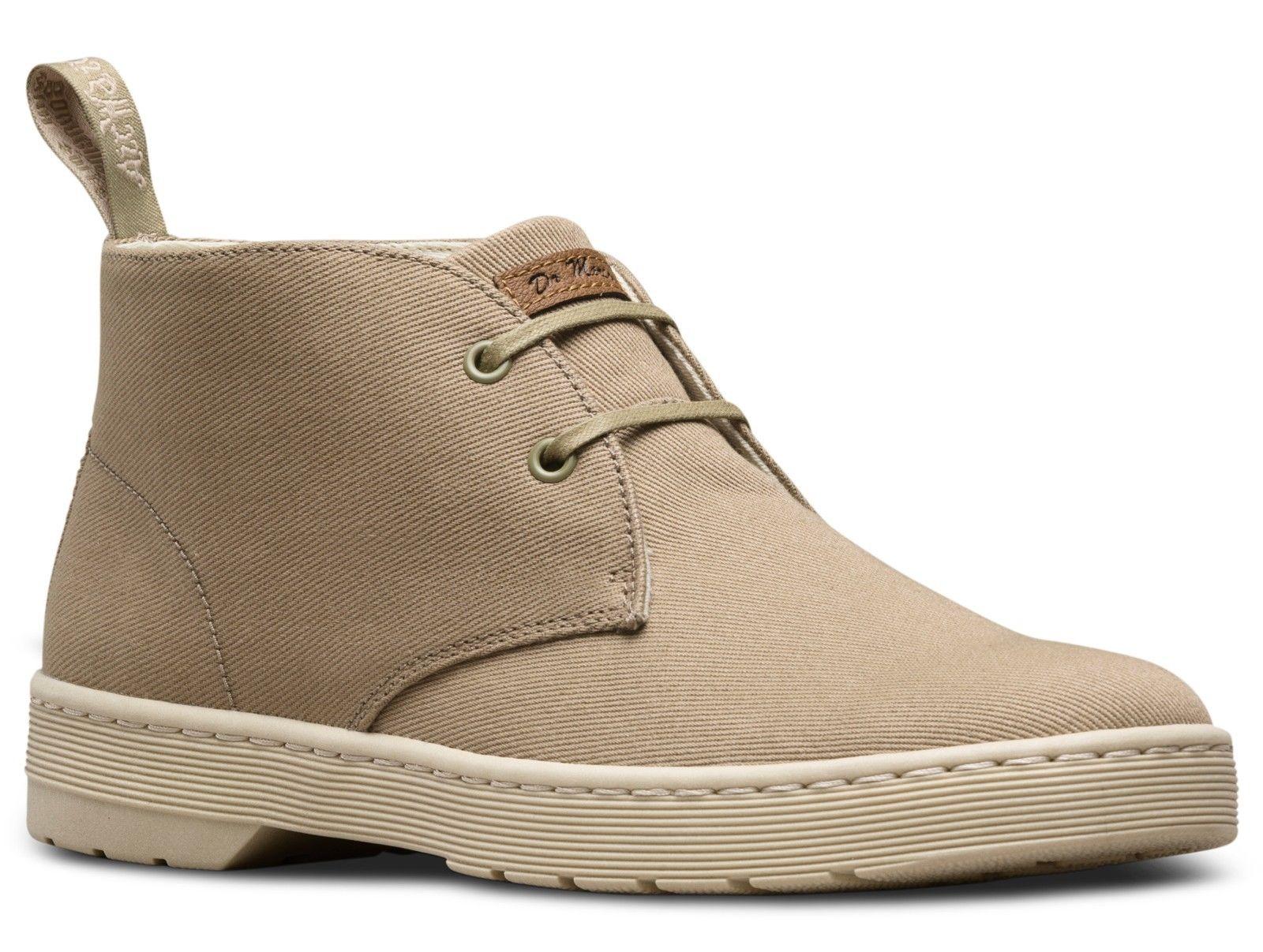 Dr Martens 23442353 Mayport desert olive Grau overdyed twill desert Mayport boot Größes 6-13UK a56fe1