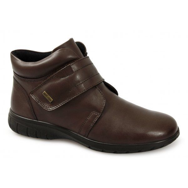 Cotswold Chalford ladies hook & loop size fastening leather ankle boot size loop 3/36-8/42 af57c0
