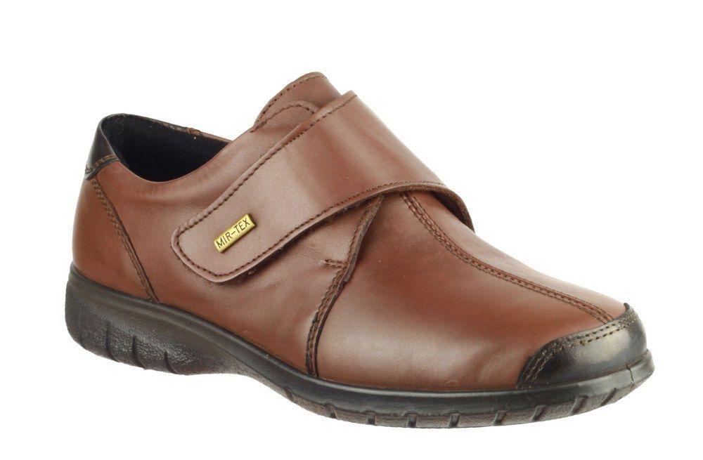 Cotswold Cotswold Cotswold Cranham Braun ladies Leder upper waterproof casual shoe Größe 3-8 f11b3a