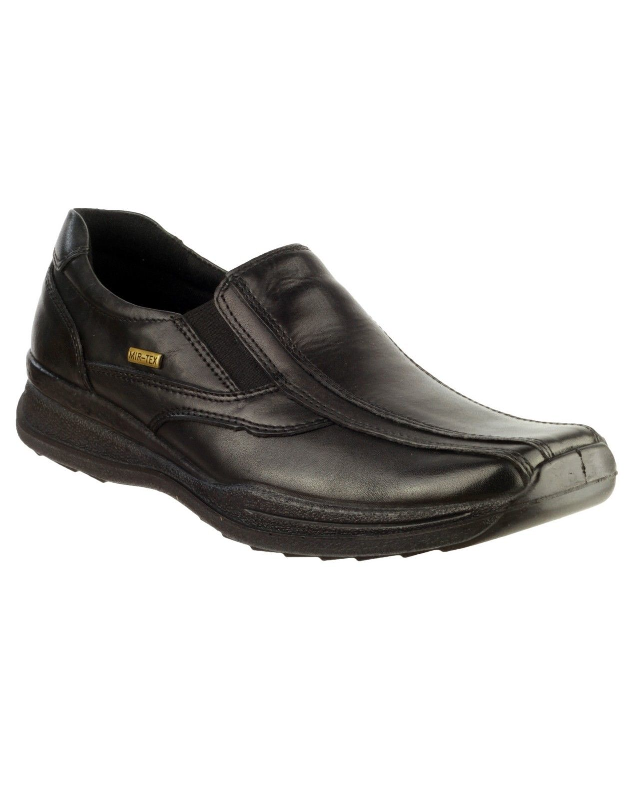 Cotswold Naunton schwarz or Braun smart waterproof comfort Leder slip slip slip on shoe 4afa77