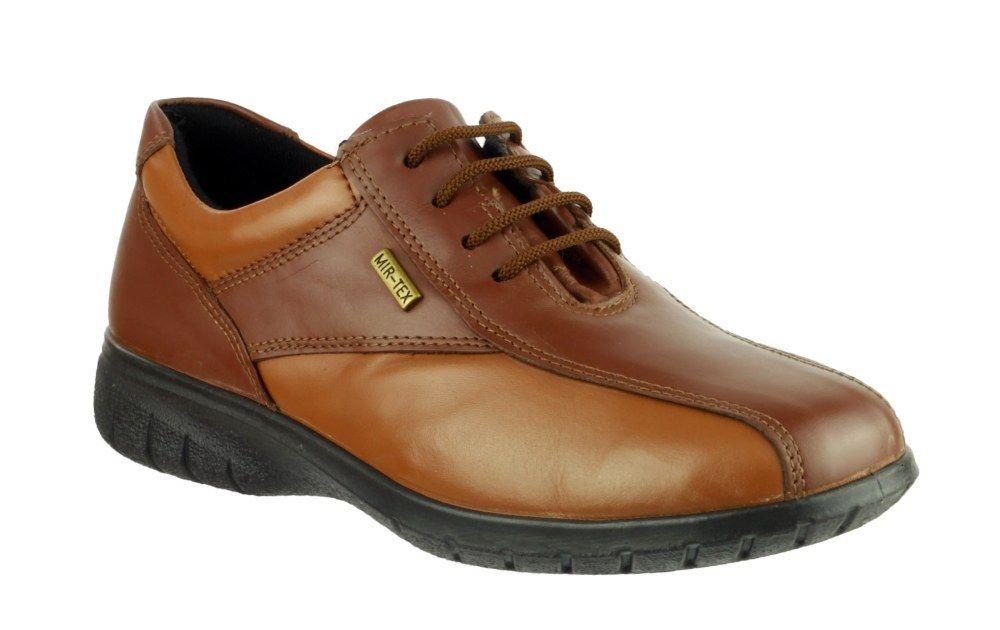 ... Cotswold Salford Marrone Tan Stivali Stivali Stivali in Pelle  Impermeabili Lacci Di Scarpe 3-8 ... fae21e231b4