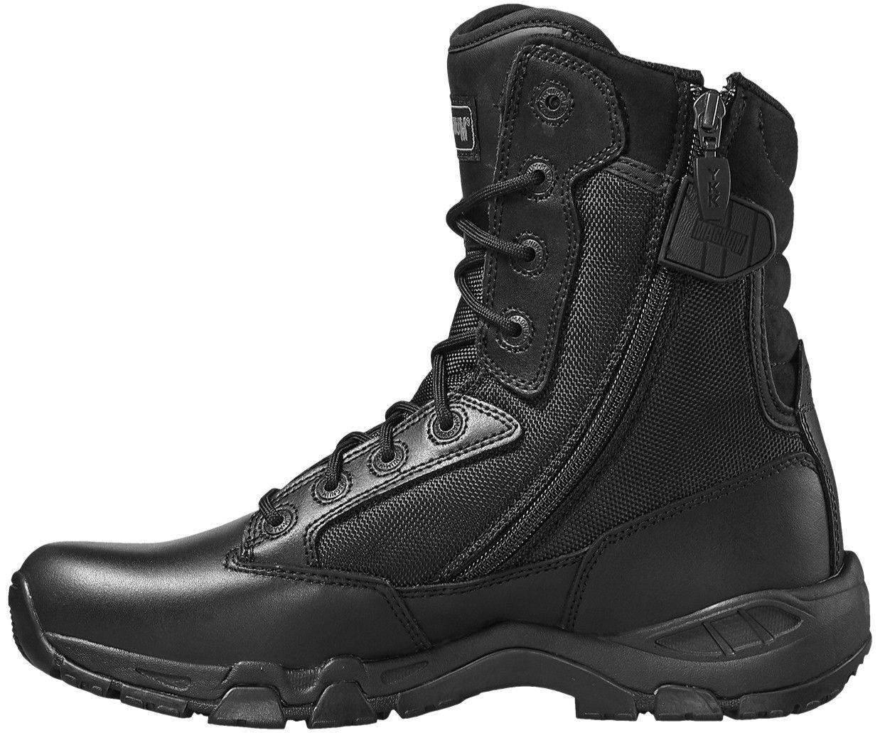 Magnum Viper Pro 8.0 uniforme Side-Zip Noir SRA uniforme 8.0 de travail non-sécurité Boot Taille 3-14 f2eacd