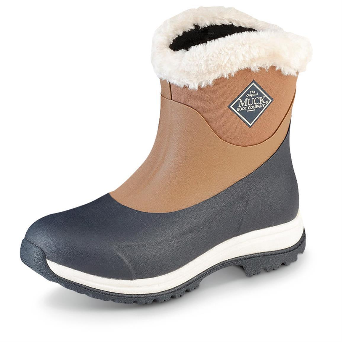 Muck Arctic Apres AP8-201 winter otter navy non-safety casual winter AP8-201 boot Größe 3-9 6c7739