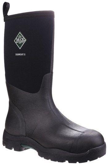 Muck Muck Muck Derwent II DWT-000 schwarz non-safety unisex wellington boot Größe 4-13 3f151e