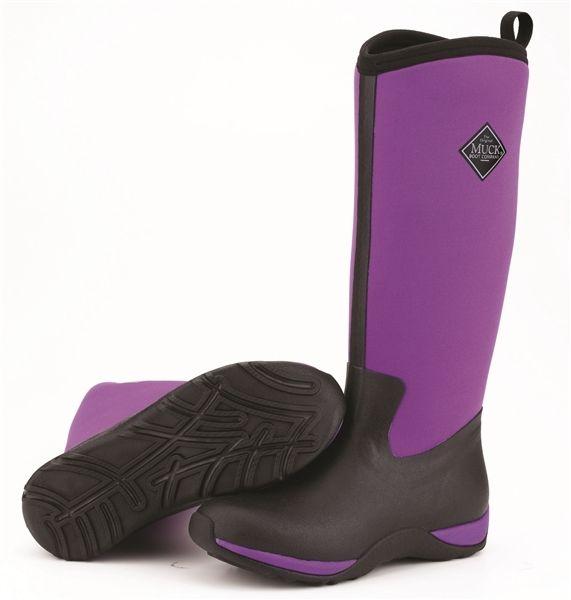 Muck non-safety Arctic Adventure WAA-500 schwarz/purple non-safety Muck wellington boot Größe 3-9 a83c6c