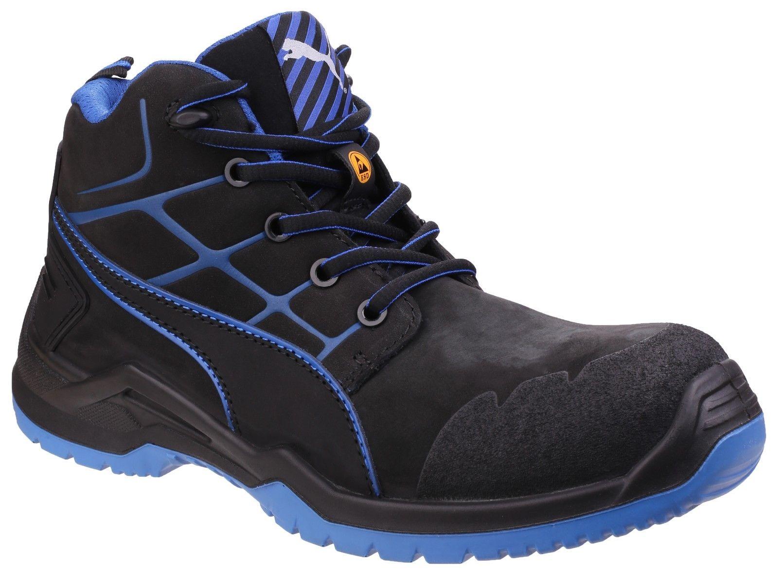 b7e5738d02407b Puma 634200 Krypton Blue Mid S3 ESD composite cop midsole safety boot 6.5-13