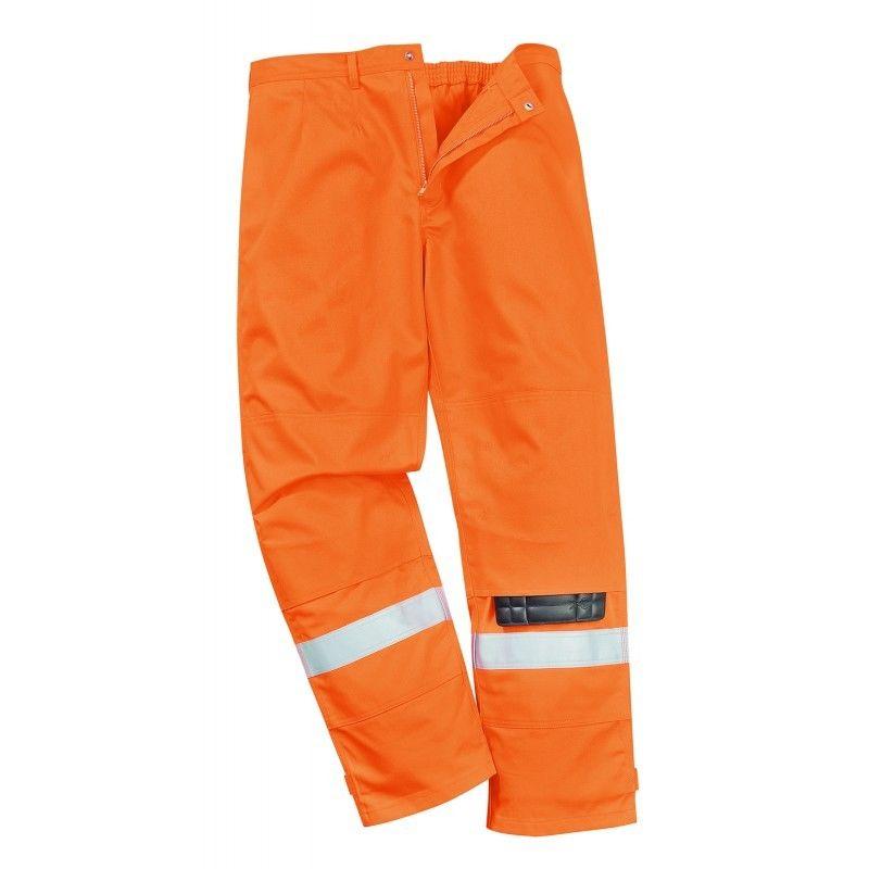 161d8b418370 Portwest Bizflame Plus Trouser Workwear Hi Vis Roadworks Fr26