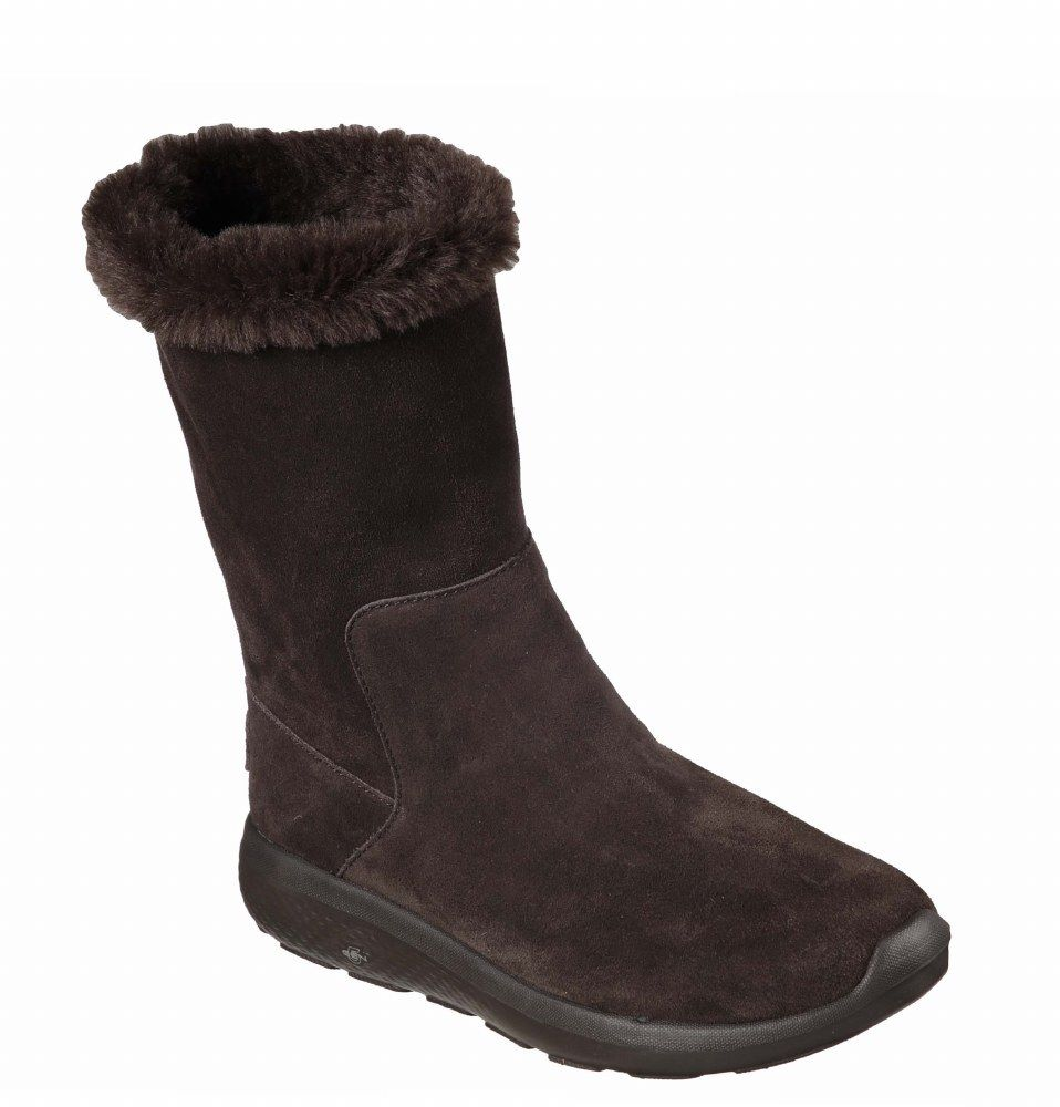 Skechers SK14620 On The Go City 2 on Appealing chocolate ladies pull on 2 boot 3-8 01998c
