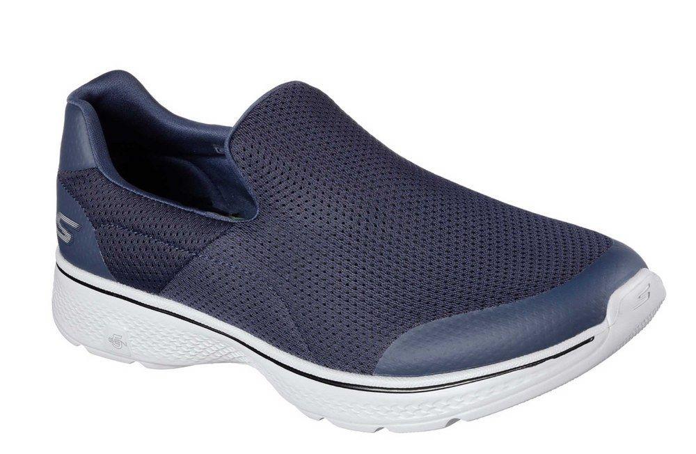Skechers SK54152 Go Walk 4 slip IncROTible navy Blau Grau slip 4 on shoe/trainer  6-12 aadba7