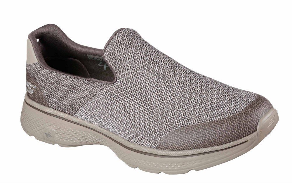 Skechers SK54155 Go Walk on 4 Expert khaki slip on Walk shoe Größe 6-12 df145d