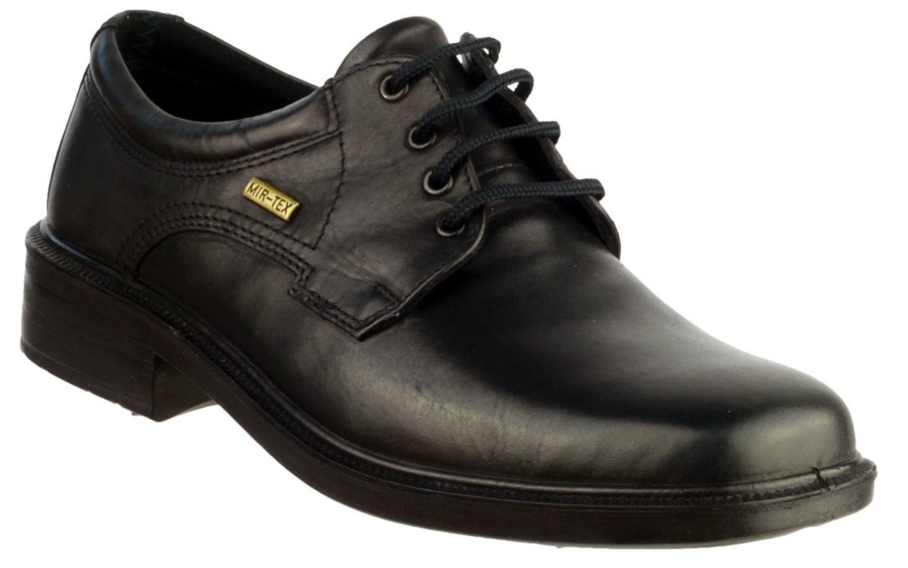 Cotswold Sudeley waterproof black or brown leather waterproof Sudeley lace up shoe ab0156