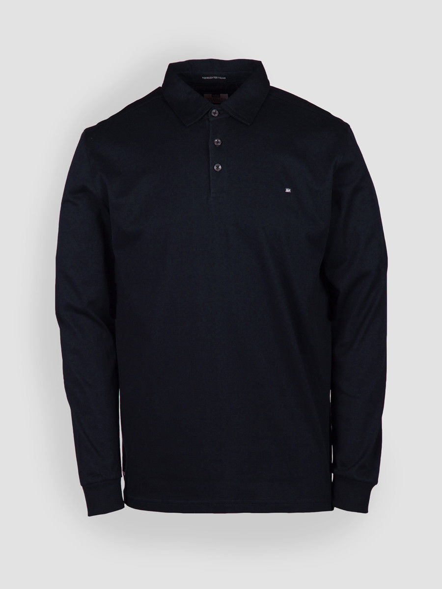 3xl Offender shirt Long Size Navy Classic Haley Weekend Small Cotton sleeve Polo CxqHHBwSP