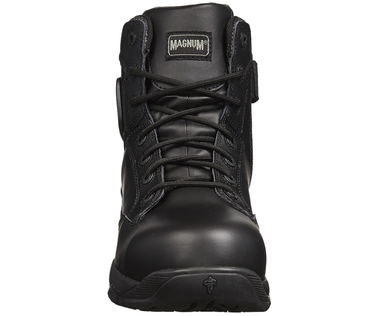 MAGNUM Strike Force 6.0 S3 black side-zip waterproof combat safety boot sz 3-14