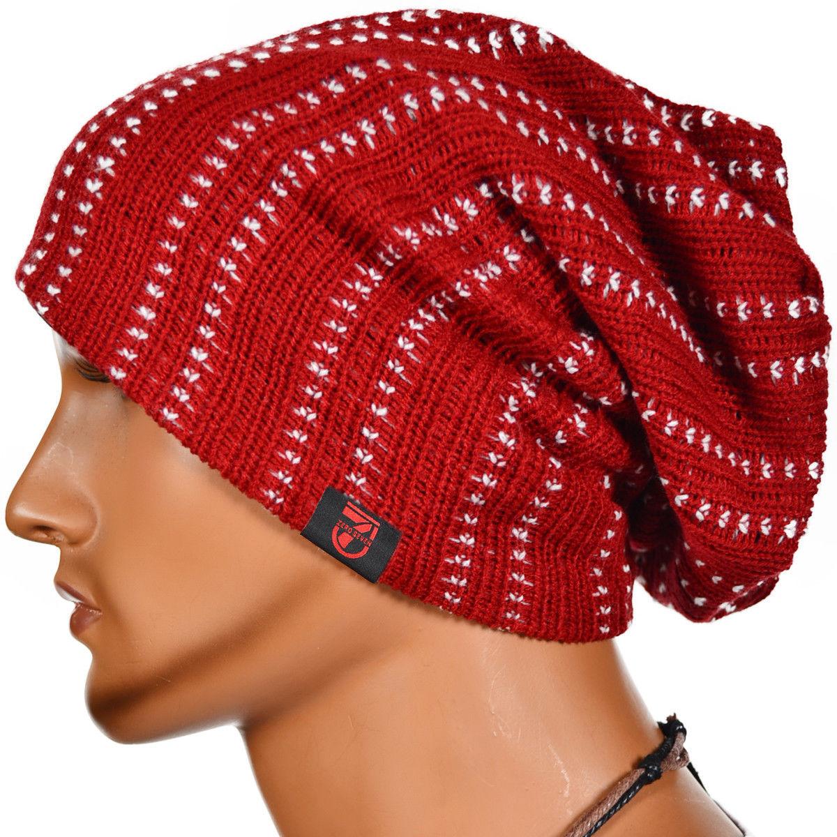 Male Slouchy Beanie Crochet Pattern
