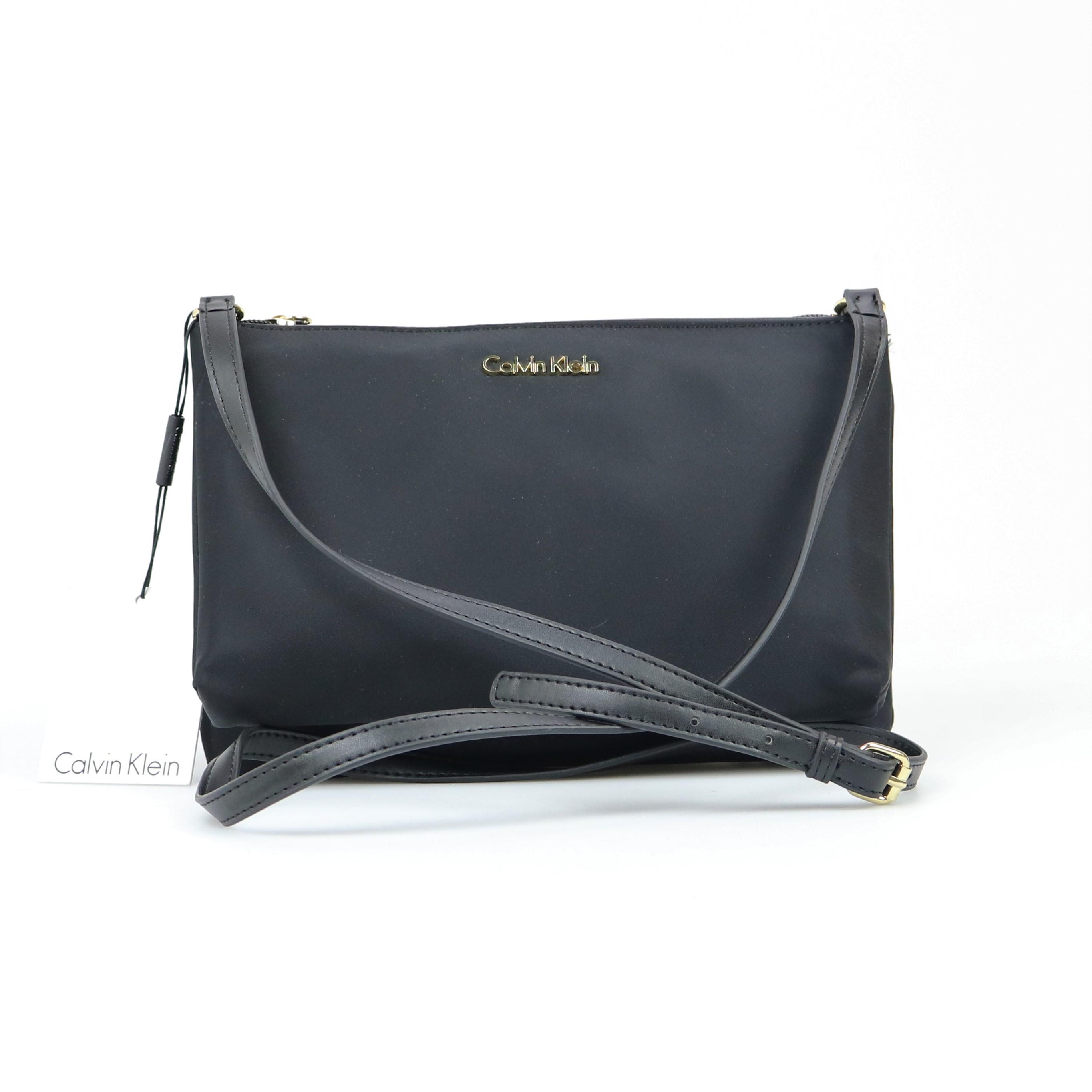 a1784189449 Calvin Klein Lucy Nylon Crossbody 191797909512 | eBay