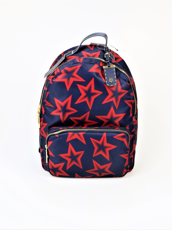 a3526705bdd1 Tommy Hilfiger Julia Smooth Star-Print Backpack 719220847639